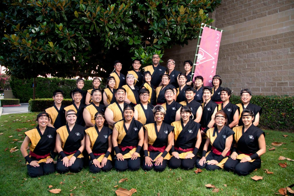 Kishin Daiko group photo