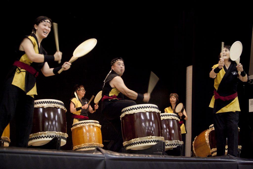 Kishin Daiko performance